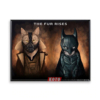 """Постер з котами-супергероями """"Темний лицар"""""""