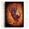 """Постер з котом-супергероєм """"Дедпул"""""""