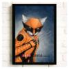 """Постер з котом-супергероєм """"Росомаха"""""""