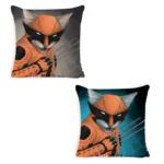 Декоративна подушка кіт-супергерой Росомаха
