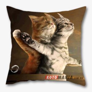 """Чохол для подушки з котом """"Титанік"""""""