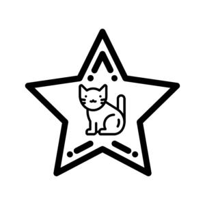 Значки з котами