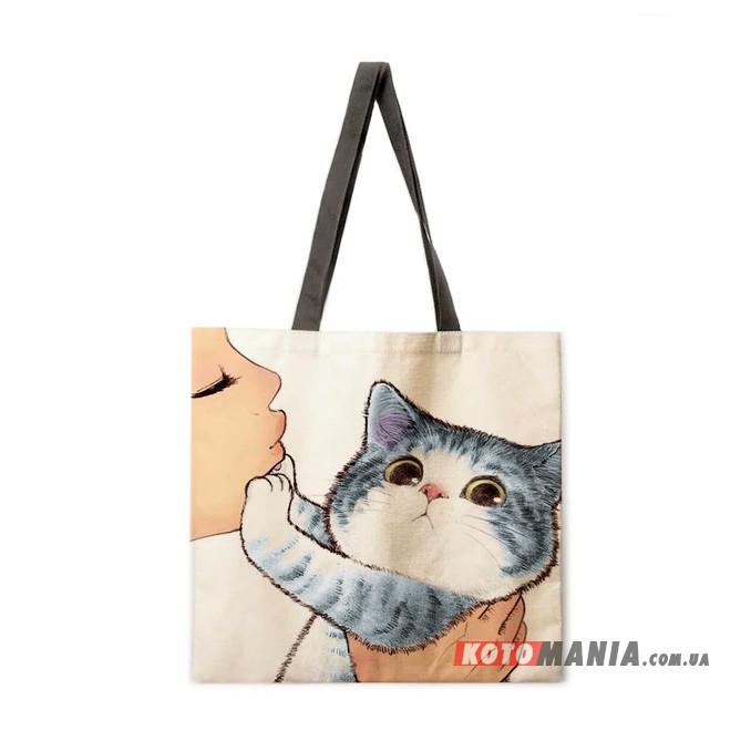 Еко-сумка Сибірська кішка