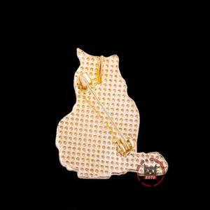 Брошка Зоряний кіт