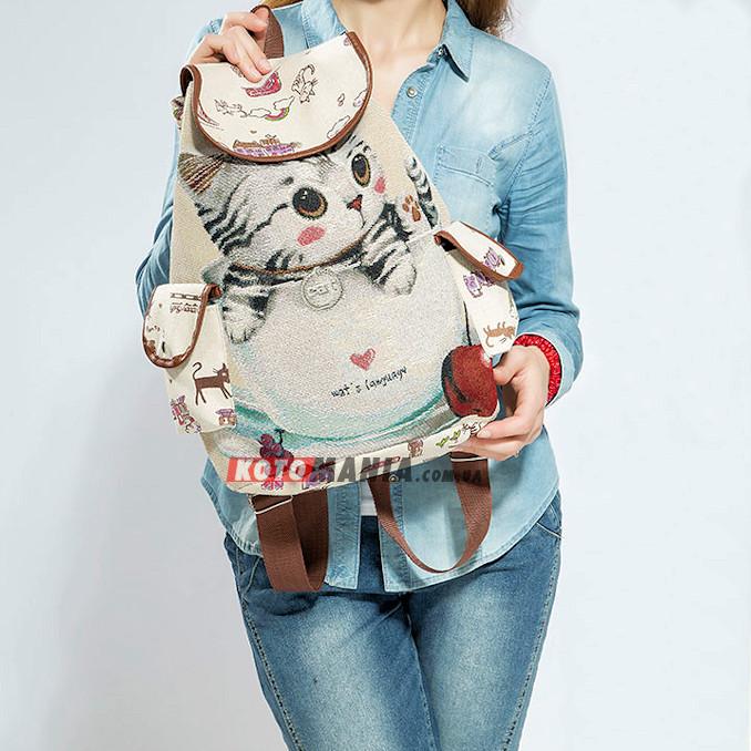 Рюкзак з котом Кошеня