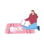 Килимки із котами – корисний та приємний елемент декору