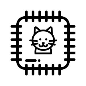 Нашивки на одяг та термопатчі з котом