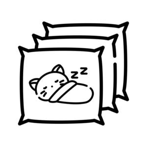 Чохли для подушок з котами