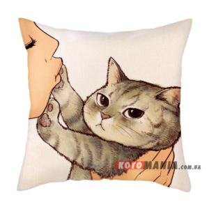 Декоративна подушка Американська короткошерста кішка
