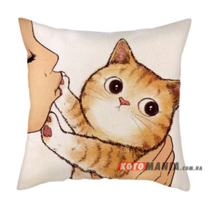 Декоративна подушка Бенгальська кішка