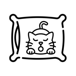 Декоративні подушки з котами