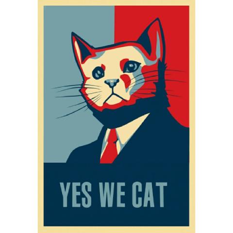 Постери з котами – додайте простору нових фарб!