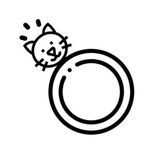 Каблучки з котом