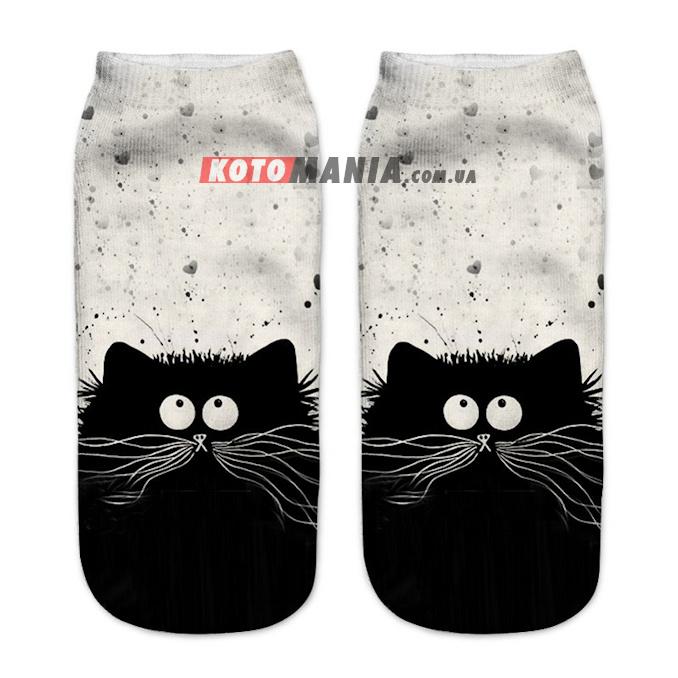 """Носки с котом """"Кот-мечтатель"""""""