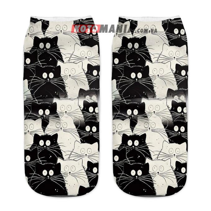 """Носки с котом """"Коты"""""""