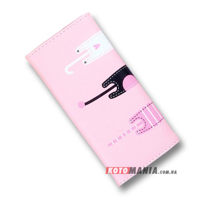 Гаманець жіночий Довгокоти рожевий